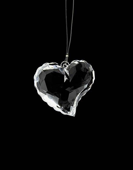 Akrylové srdce 6cm