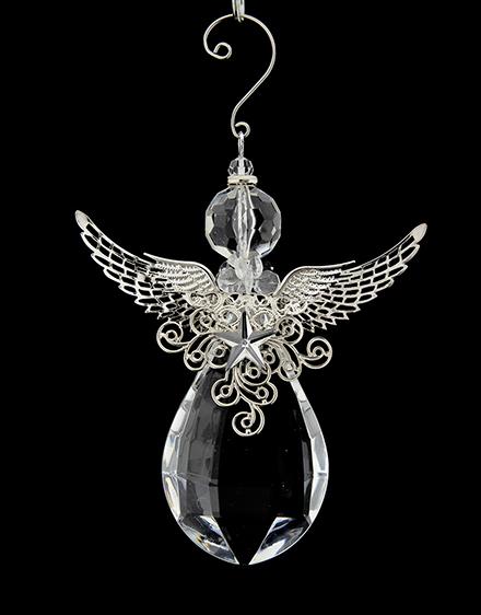 Anjel akryl 12x14cm
