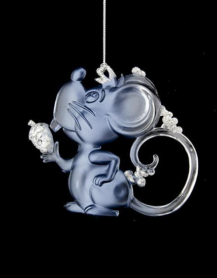 Myška modrá 13x11cm
