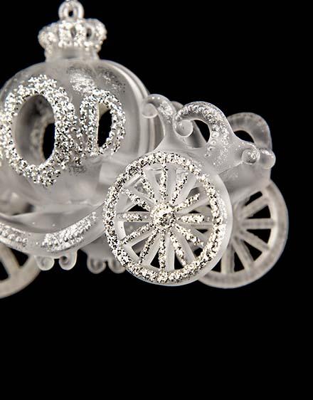 Strieborný koč  akryl
