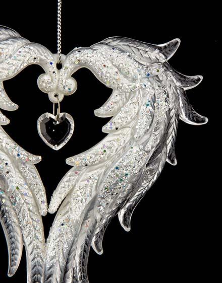 Anjelské krídla  transparentné