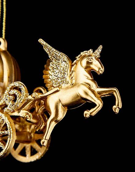 Zlatý koč  akryl